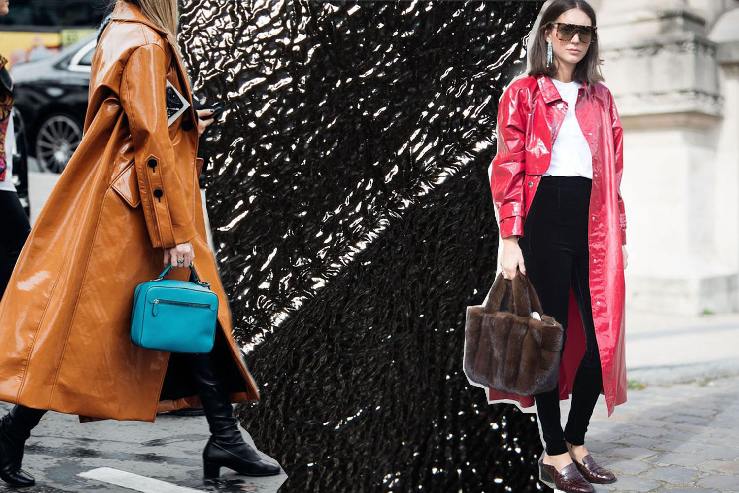 GLOSSY LEATHER TREND