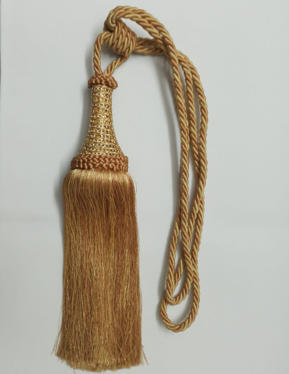 Gold & Yellow Tassel Tieback (set of 2) T68-GD-YW
