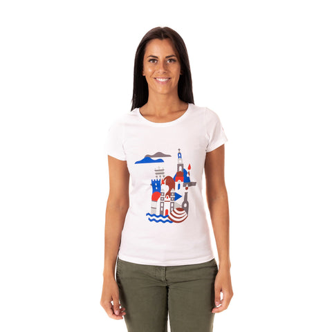 "inGamba T-Shirt Women's exclusive ""Northern Portugal"""