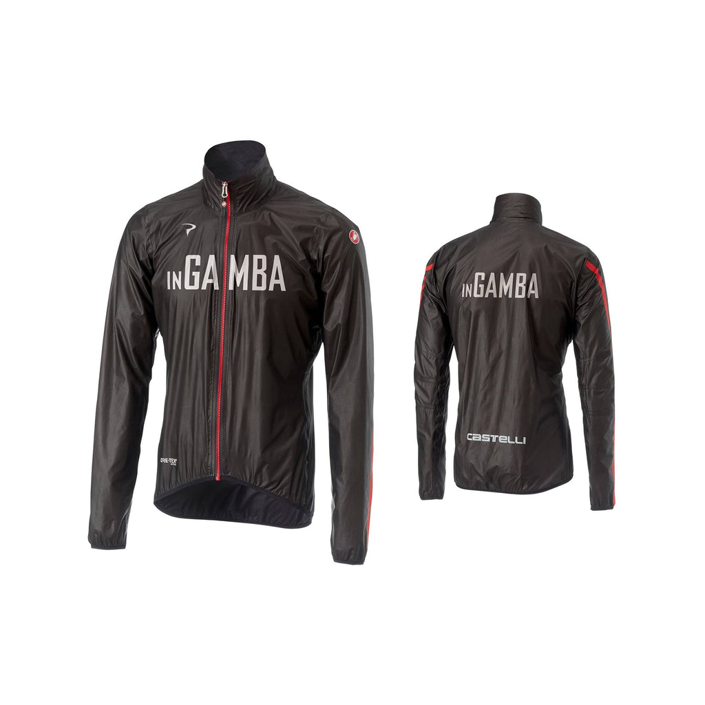 Castelli for inGamba Men's Idro 2 Black Jacket