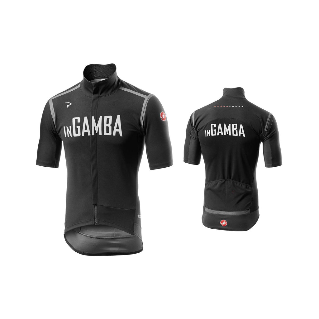 Castelli for inGamba Men's Gabba RoS Black Cycling Clothing Castelli