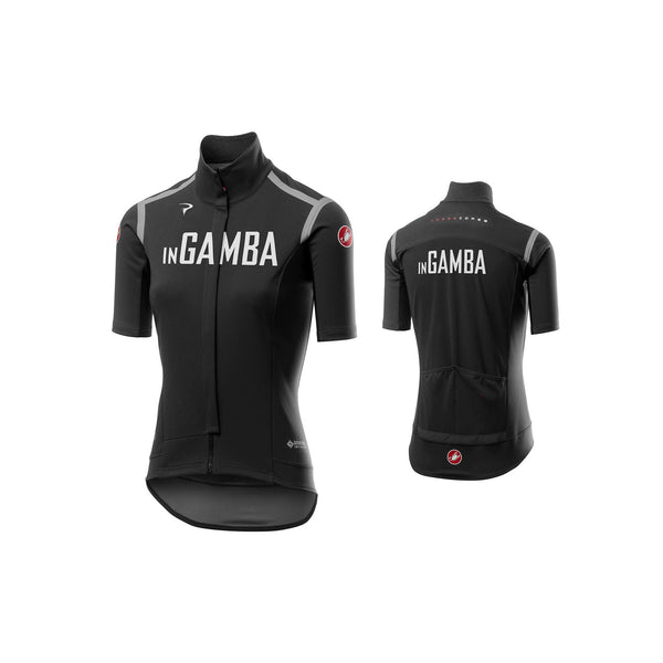 Castelli for inGamba Women's Gabba RoS Black Cycling Clothing Castelli