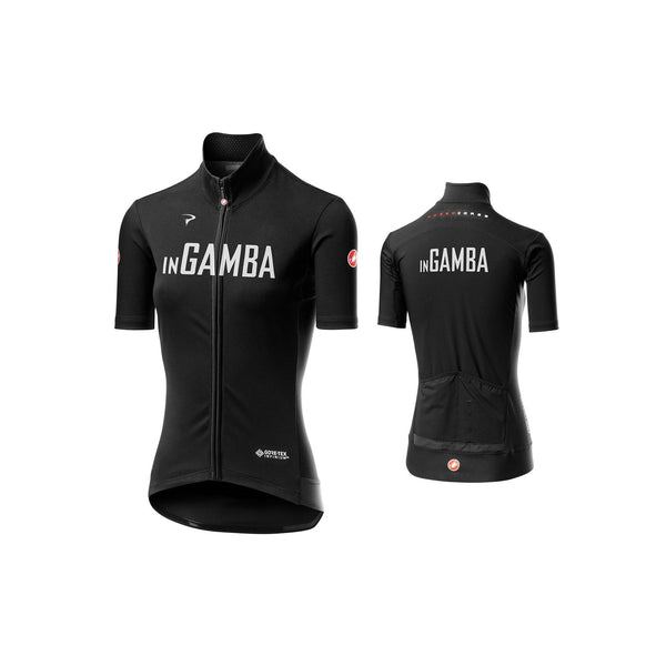 Castelli for inGamba Women's Perfetto RoS Light Black Cycling Clothing Castelli