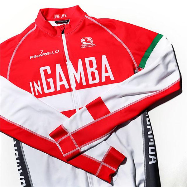 inGamba Women's FR-C Long Sleeve Light Jersey Giordana Large