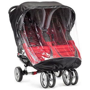 Baby Jogger City Mini Double Black/Clear Weather Shield Only