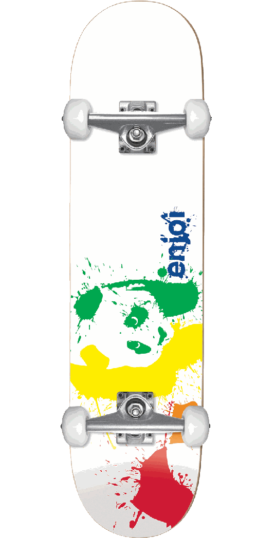 Enjoi Splatter Spectrum Complete 7.75