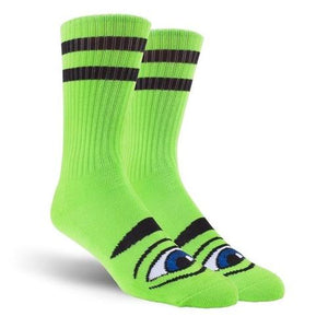 Toy Machine Sect Eye Sock Green
