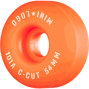 Mini Logo C-Cut 54mm 101a Orange
