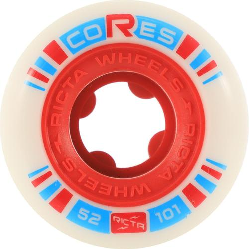 Ricta Cores 52mm 101a Red