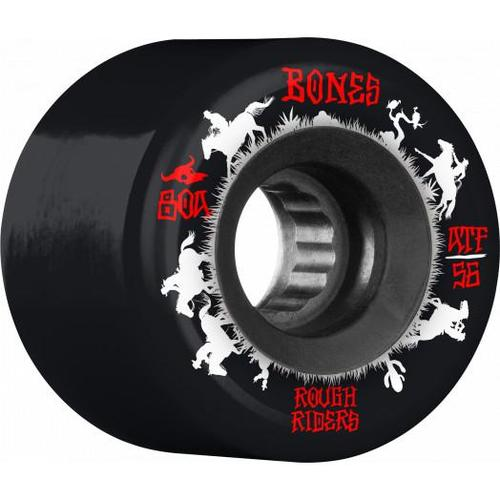 Bones Rough Riders Wranglers 56mm 80a Black