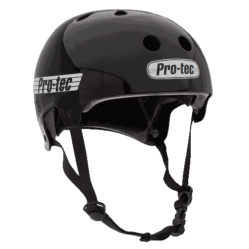 Protec Old School Cert Gloss Blk M