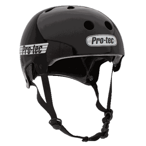 Protec Old School Cert Gloss Blk XL