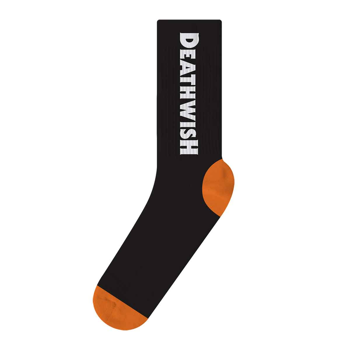 Deathwish Carpenter Blk/Org Socks