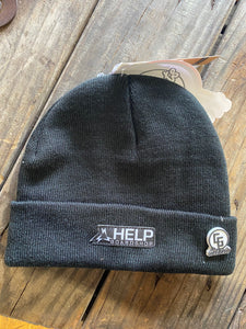 Help Embassy Patch BLK Beanie
