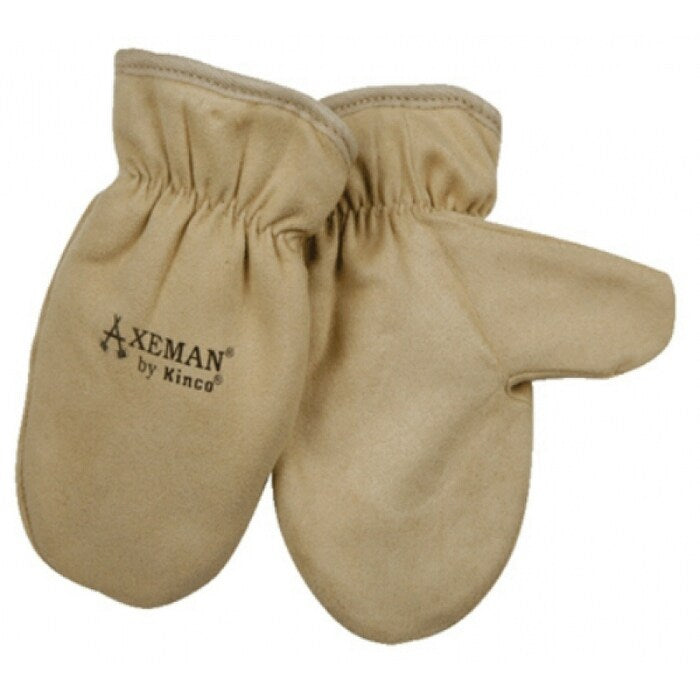 Axeman Mitten Youth Brown