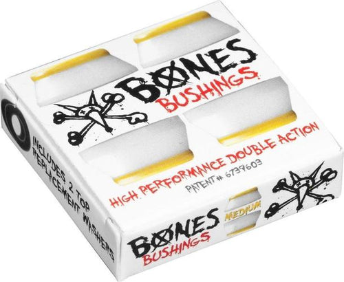 Bones Bushings White Medium