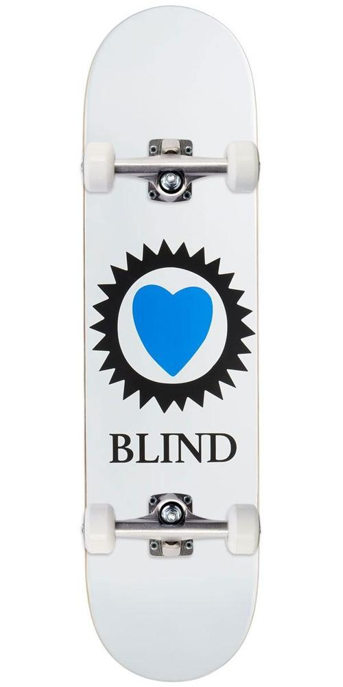 Blind Heart Complete White 8.25