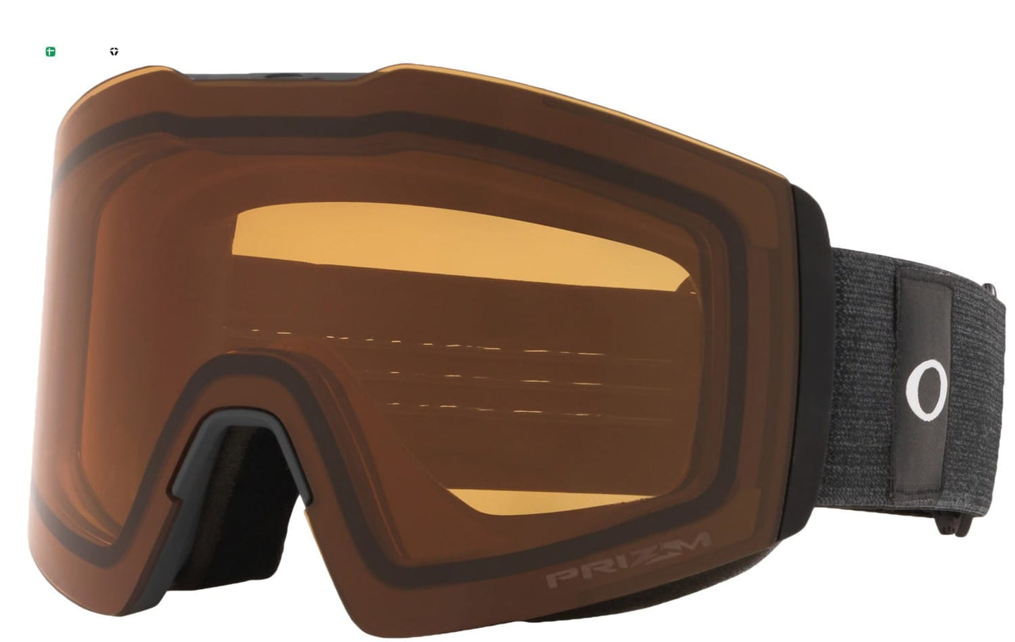 Oakley Fall Line XL Heathered Dark Grey w/Prizm Persimmon