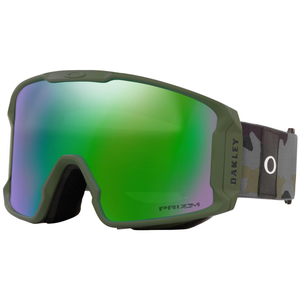 Oakley Line Miner XL Dark Brush Grey Camp w/Przm Jade Iridium