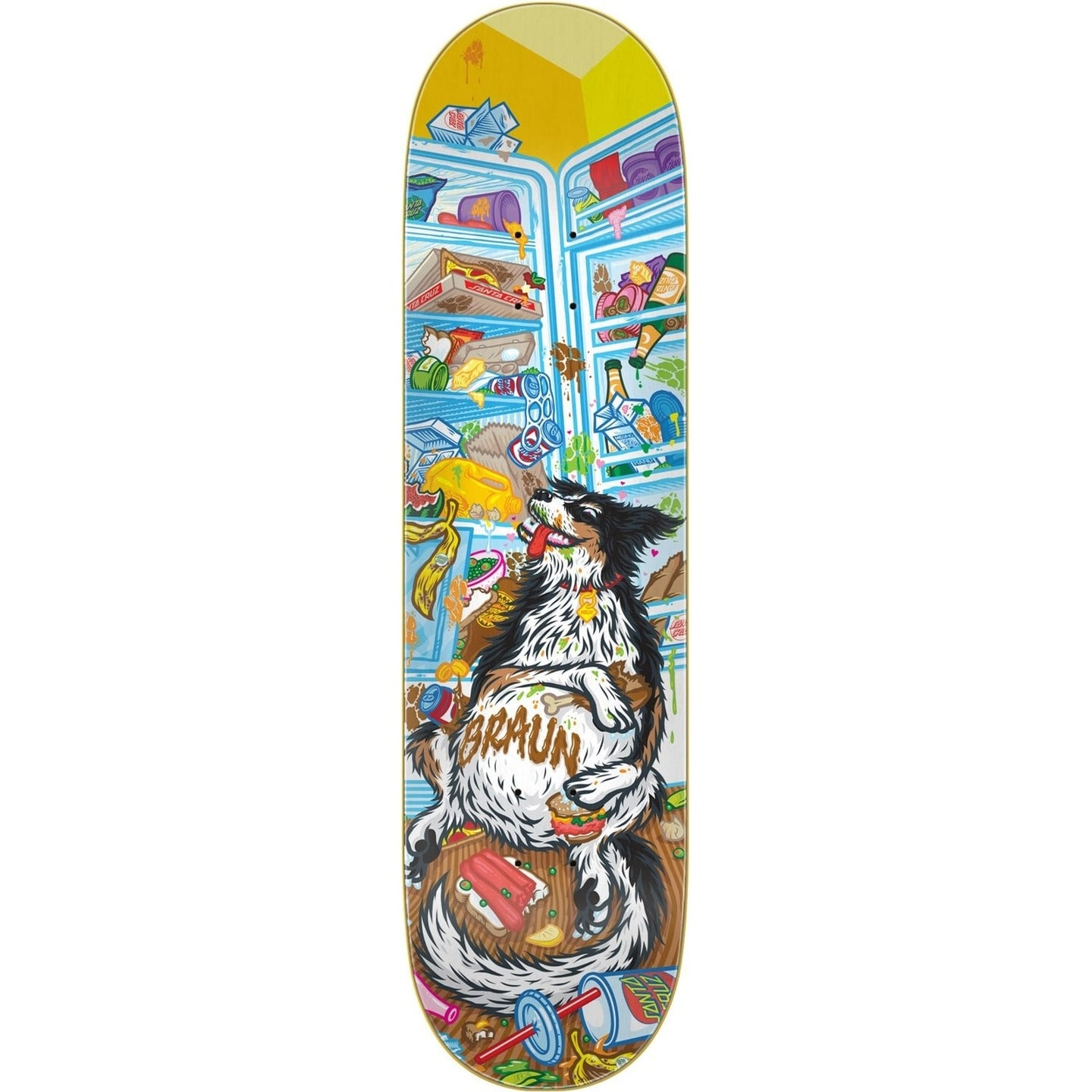 Santa Cruz Braun Munchies Everslick 8.25