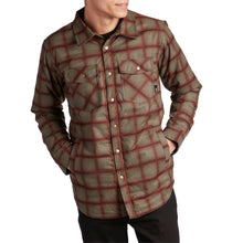 Load image into Gallery viewer, Ride Riding Flannel Khaki