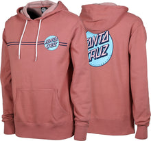 Load image into Gallery viewer, Santa Cruz Woman's Other Dot Dusty Rose Hoodie