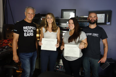 Three more audiologists earn Sensaphonics Gold Circle certification