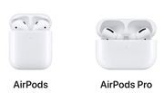 Apple AirPods and AirPods Pro (not included with SCS purchase)