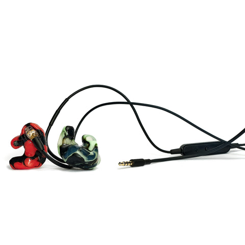 Shure SE425 + Silicone Custom Sleeves Bundle