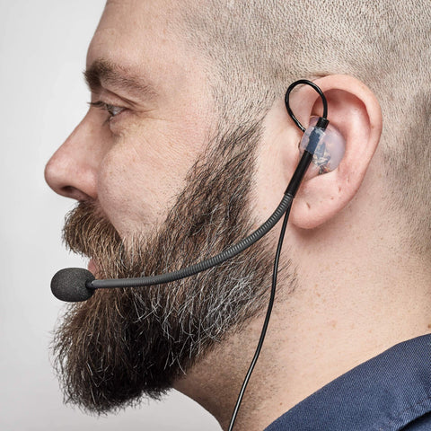 TC-1000 Custom-fit Intercom Headset