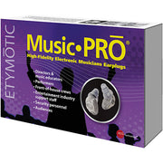 Etymotic Music PRO electronic musicians earplugs (packaging)