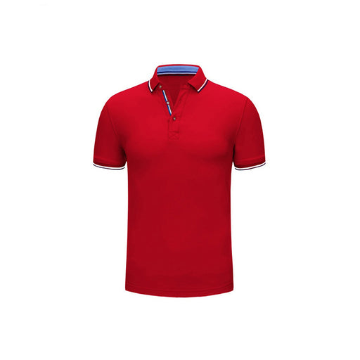 Basic Color Blooming Polo Shirt