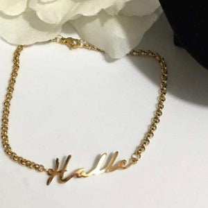 Athena Personalized (Name) Bracelet