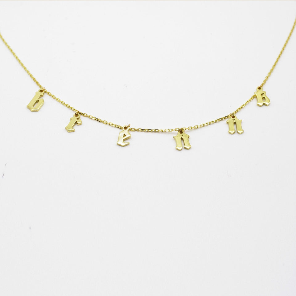 Choker Personalized (Name) Necklace
