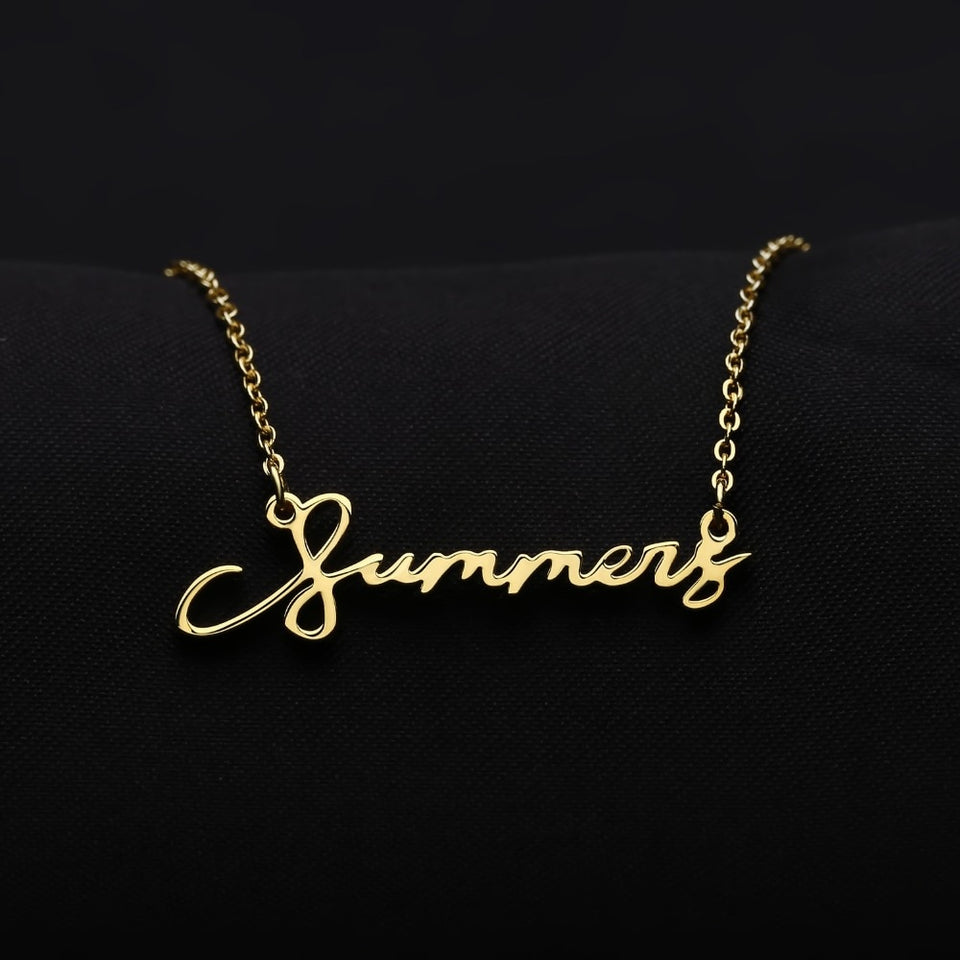 Handwriting Personalized Necklace
