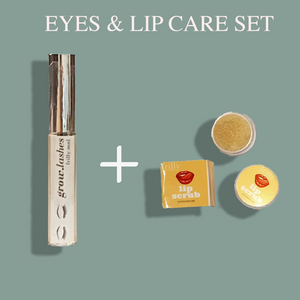 Eye & Lip Care Set (FREE Eyebrow Pomade)