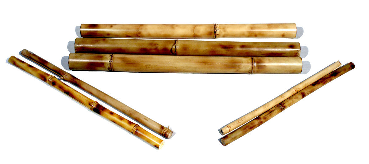 Set of Bamboo for Bike Frame