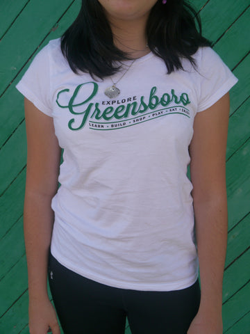 Short Sleeve T-shirt, Greensboro Logo