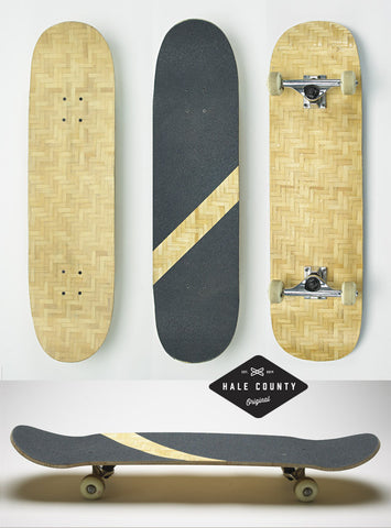 Beacon Alley Bamboo Skateboard
