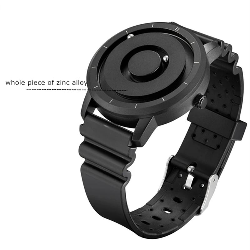 Men's Minimalist Magnetic Metal Dial Watch