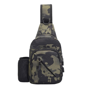 Camouflage Crossbody Travel Bag