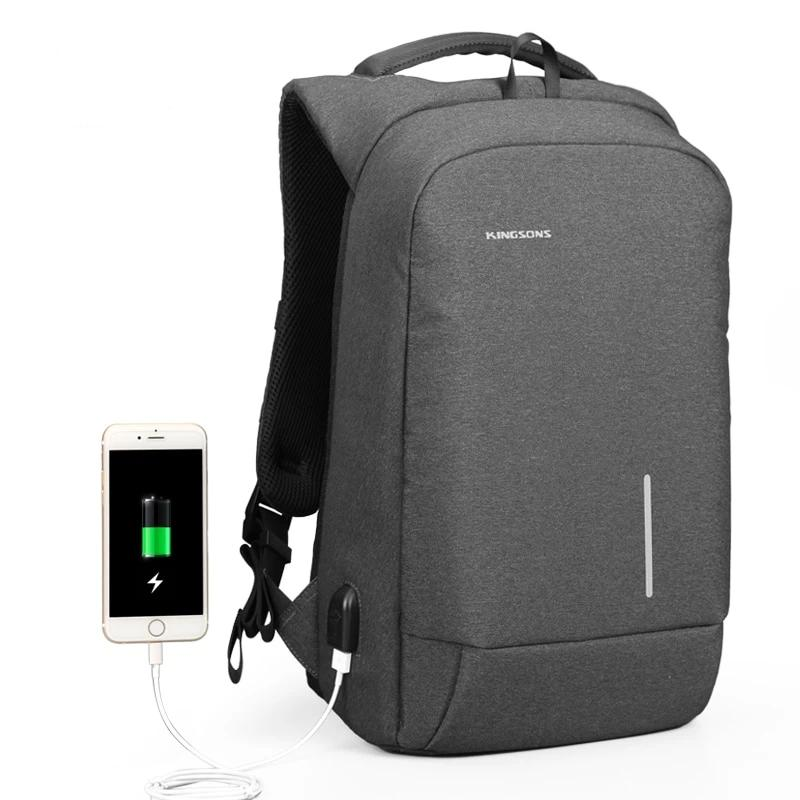 Men's Anti-Theft Laptop Backpack