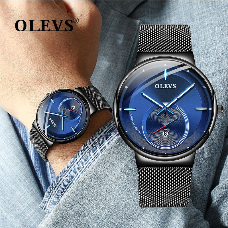 Men's Minimalist Unique Quartz Watch