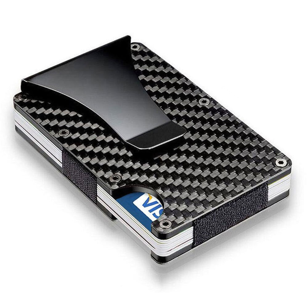Carbon Fiber RFID Wallet for Men