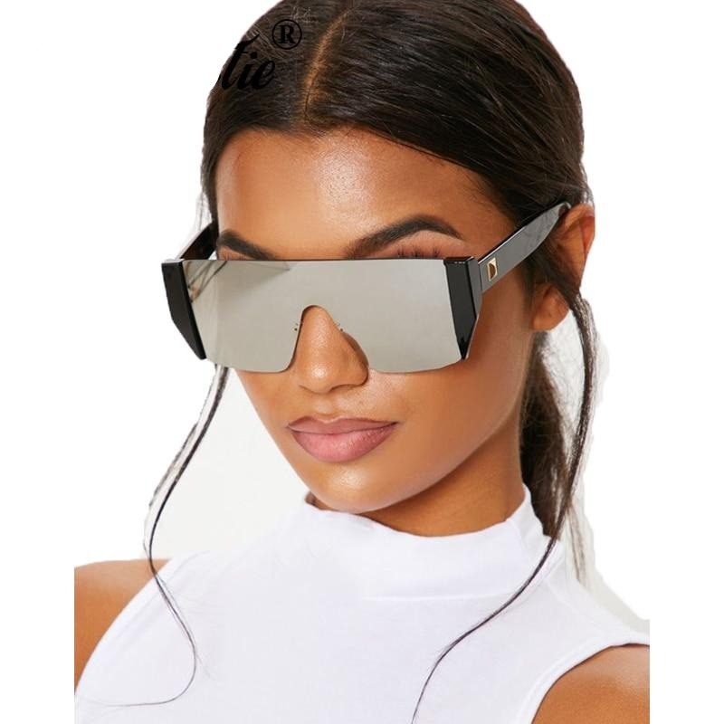 Futuristic One Piece Women's Sunglasses