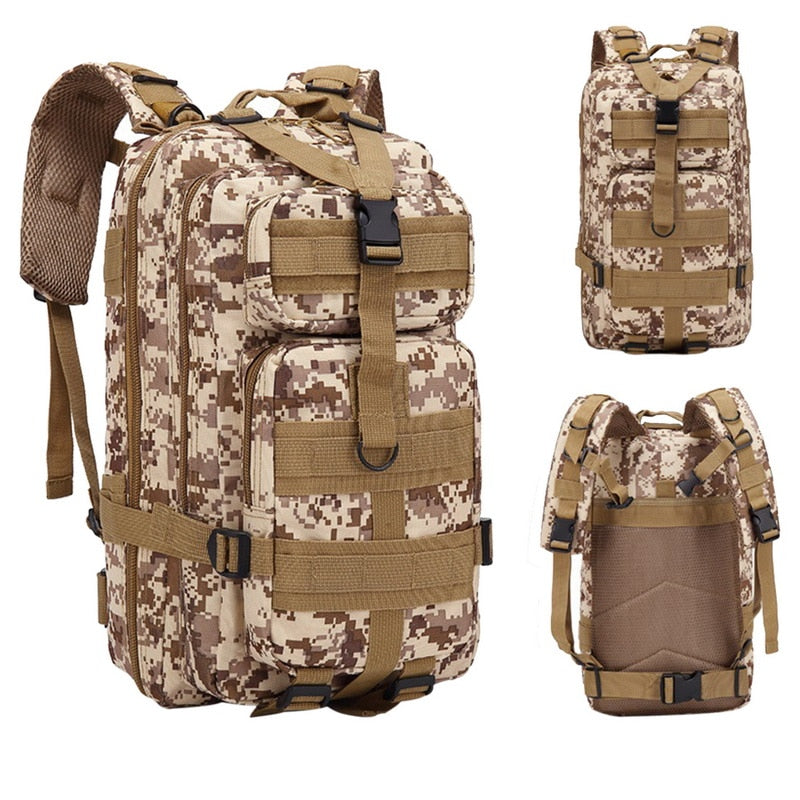 Camouflage Multi-Function Outdoor Waterproof Backpack