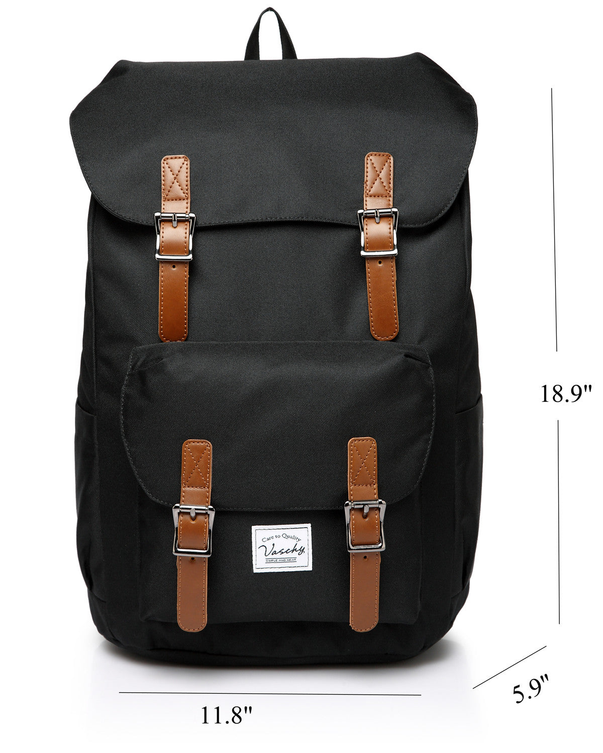 Men's Vintage Travel Laptop Backpack