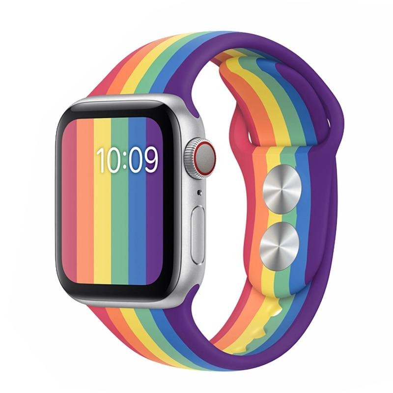 Pride Edition Silicone Apple Watch Band