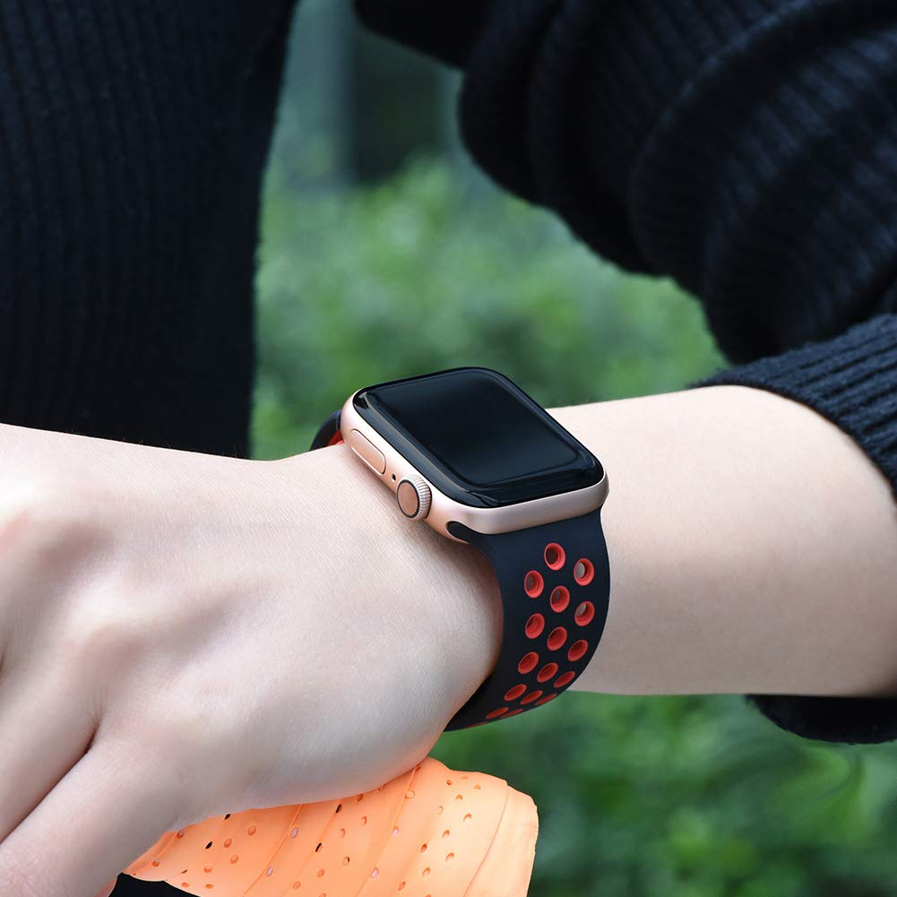 Breathable Silicone Sport Band For Apple Watch