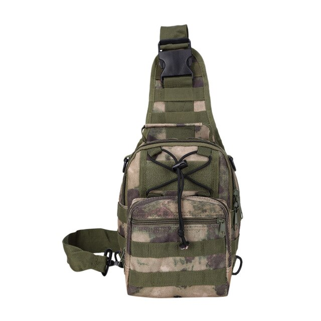 Camouflage Crossbody Messenger Travel Bag
